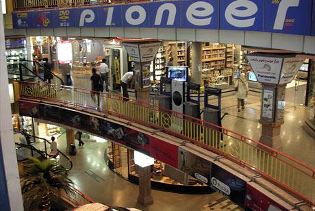 Computer market in Tehran