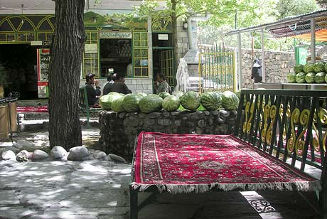 Chilling in Darakeh