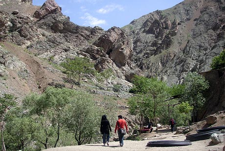 Trekking in Darakeh